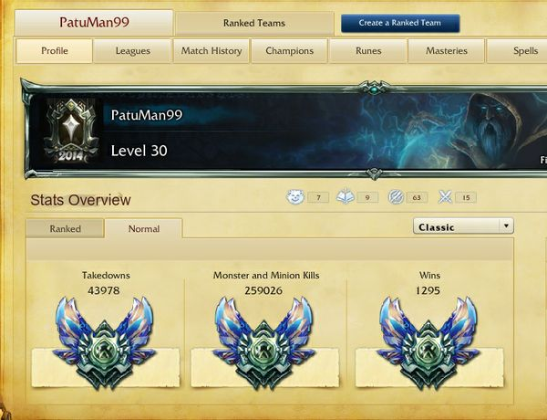LoL Account EU Nordic & East