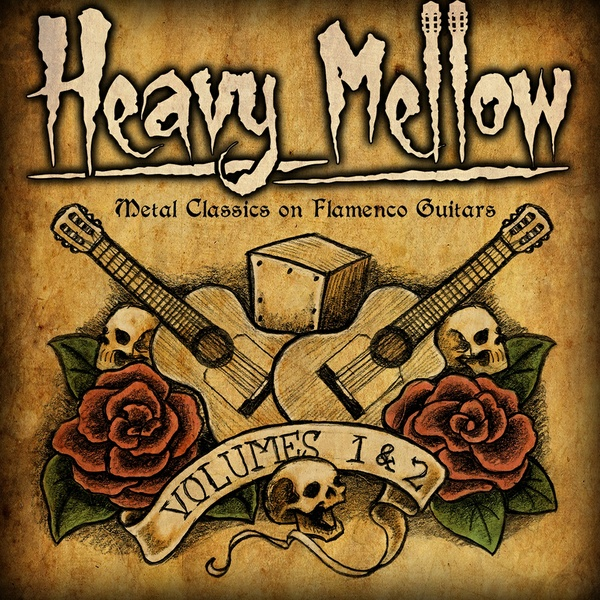 HEAVY MELLOW Volumes 1 & 2 (Metal Classics on Flamenco Guitars) - Double Album (MP3)