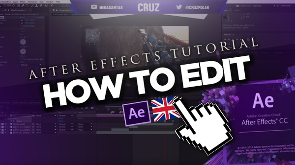 After Effects - Edit Tutorial Free Project File