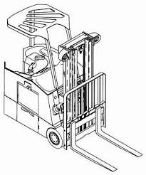Yale ESC 030 - 050 ZA (Z945) Lift Truck Parts Manual