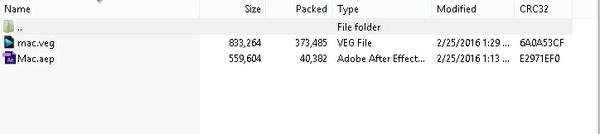 MAC Project File