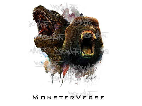 MonsterVerse Art Poster