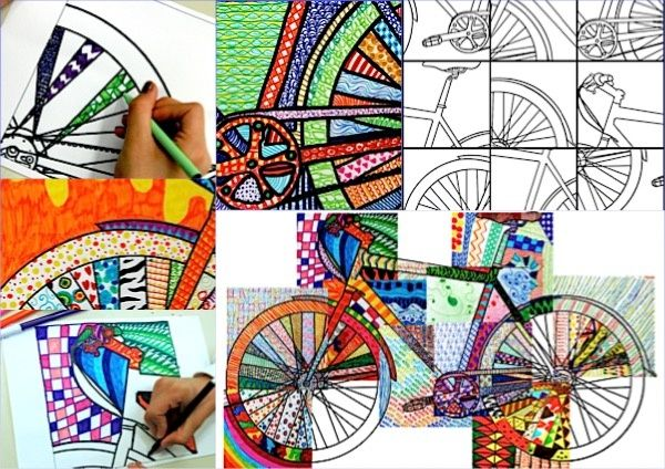 BICYCLE DETAILS: 20 printable worksheets
