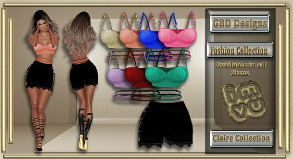 Claire Collection CATALOG ONLY