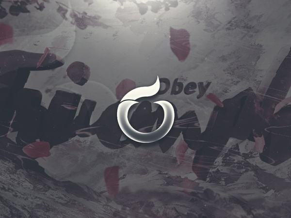 Obey Triumph Header PSD