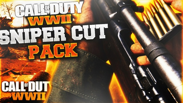 Call Of Duty WW2 Sniper Rifle Render Pack