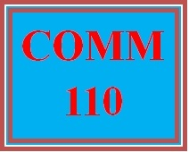 COMM 110 Week 2 Speech Preparation Reflection