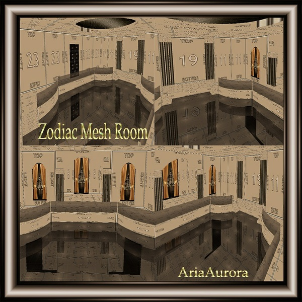 Zodiac Room Mesh NO Resell!!