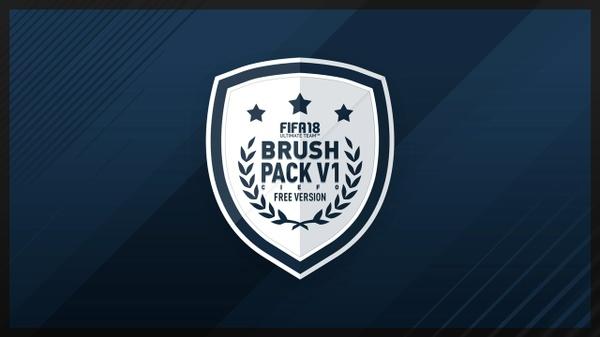 FIFA 18 BRUSH PACK V1 ( FREE VERSION )