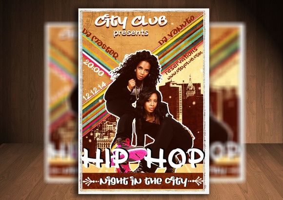 City Hip Hop Flyer