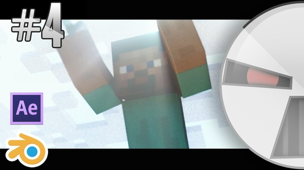 Minecraft Intro Template #4 - Free Blender & After effects