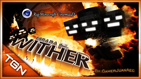 "Rig Minecraft ""Espada del Wither"""