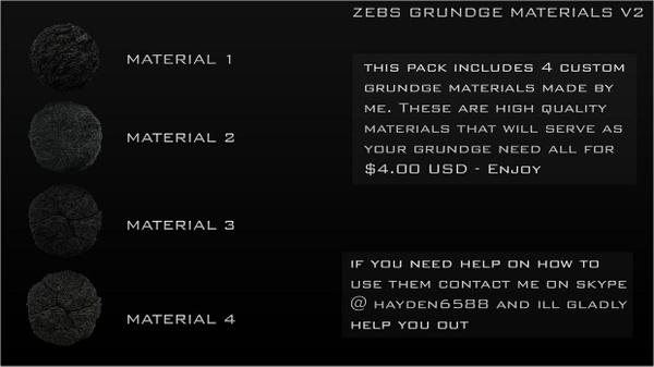Zebs Grundge Materials V2