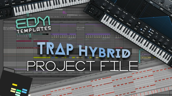 Ableton Live Trap Hybrid Template 16.10