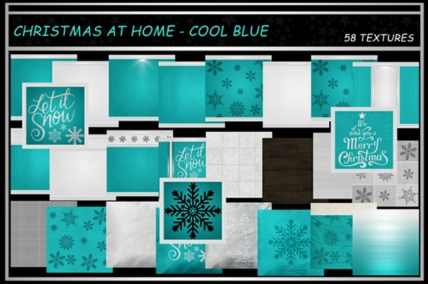 CHRISTMAS AT HOME ~ COOL BLUE