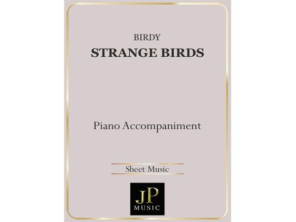 Strange Birds - Piano Accompaniment