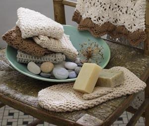Crochet Bath Mitt