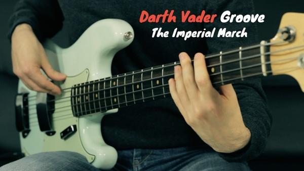 Darth Vader Groove - Tab