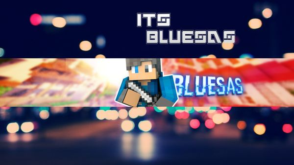 YouTube 2D Banner {Minecraft}