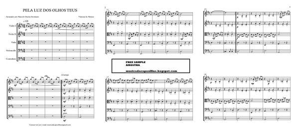 PELA LUZ DOS OLHOS TEUS - Quinteto de Cordas -Score and parts.pdf