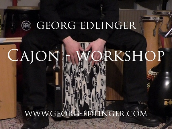 Gratis Promo Video - Cajon 1 Workshop & 11 Cajon Solos