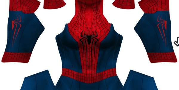 The Amazing Spider-man 2 (woman shading)