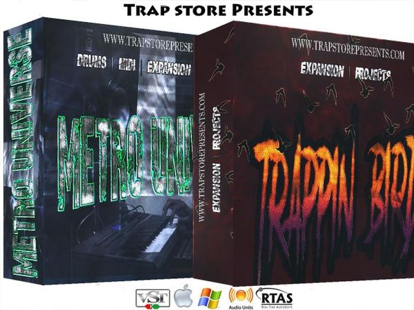 Trap Store Presents - Metro Universe & Trappin Birds