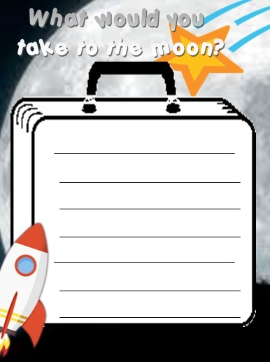 WHAT WOULD YOU TAKE TO THE MOON - PDF