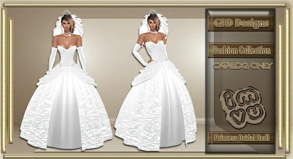 Princess Bridal Bundle CATALOG ONLY