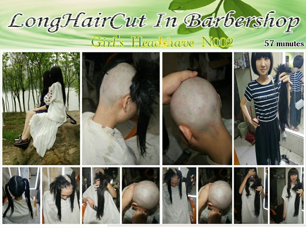 Girl's headshave N002