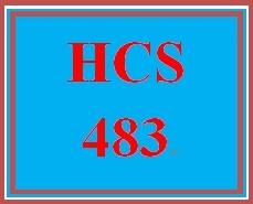 HCS 483 Week 5 Technology Trends Proposal Presentation