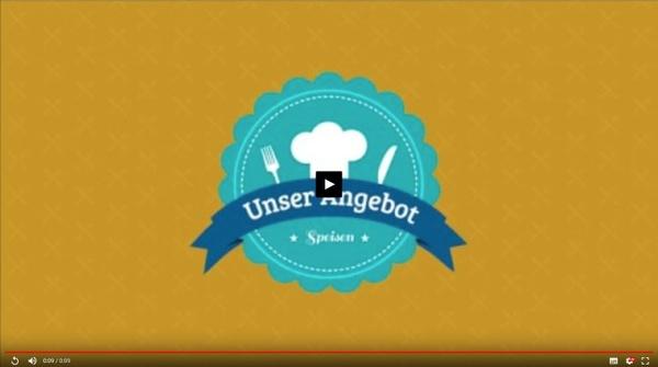 """Video """"Unser Angebot Speisen"""""""