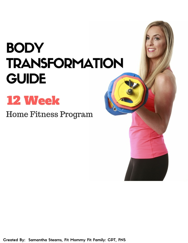 12 Week Body Transformation Fitness Guide