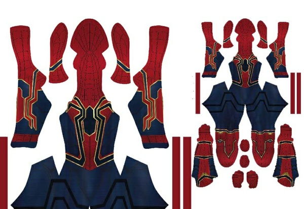 Ironspider (Infinity suit's)