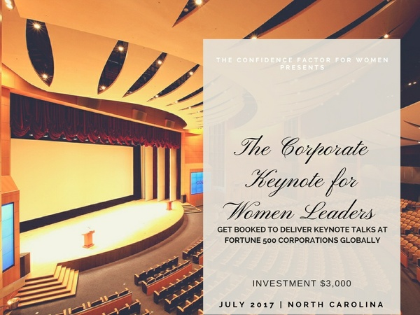 The Corporate Keynote for Women Leaders