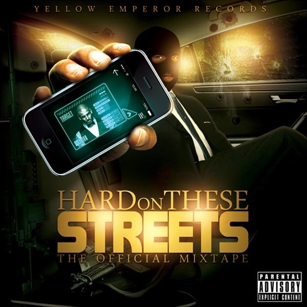 Hard Streets Mixtape Cover Template PSD