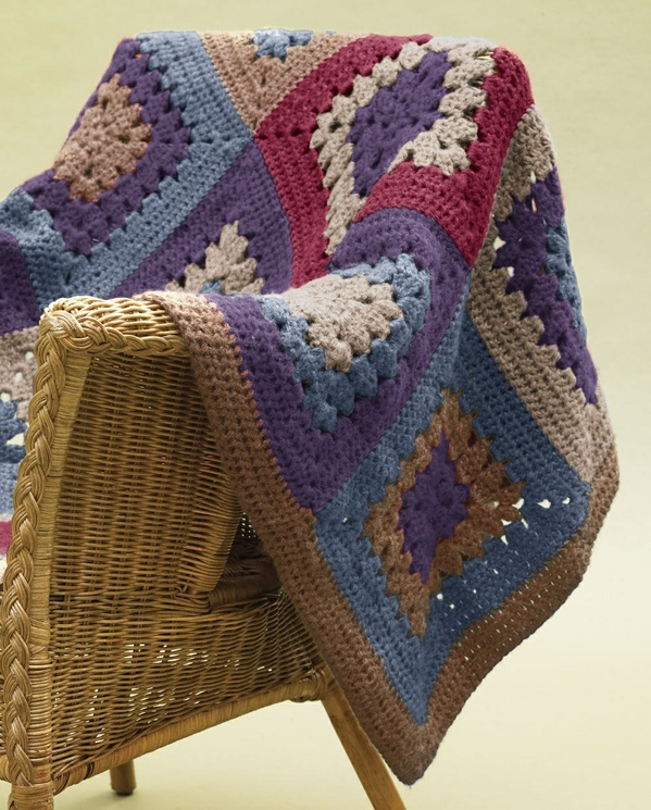 Cottage Granny Throw