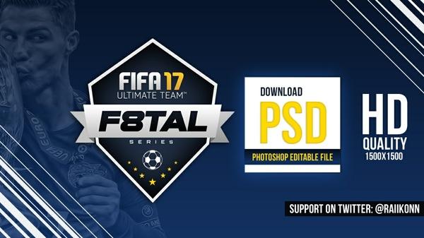 F8TAL LOGO - FIFA 17 [PSD File]