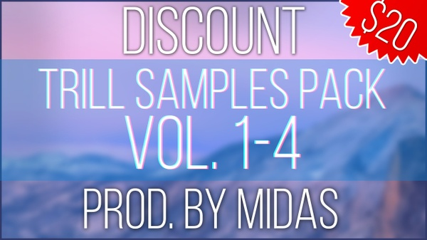 Discount Trill Samples Pack Vol. 1-4.