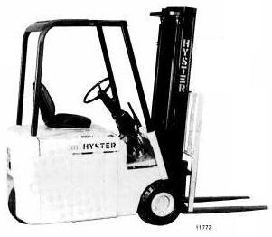 Hyster Forklift B160 Series: J25A, J25B, J30A, J30AS, J30B, J30BS, J35A, J35B Spare Parts List EPC