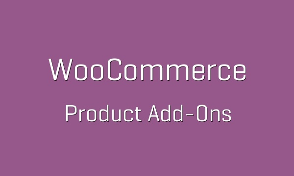 WooCommerce Product Add-ons 2.9.1 Extension