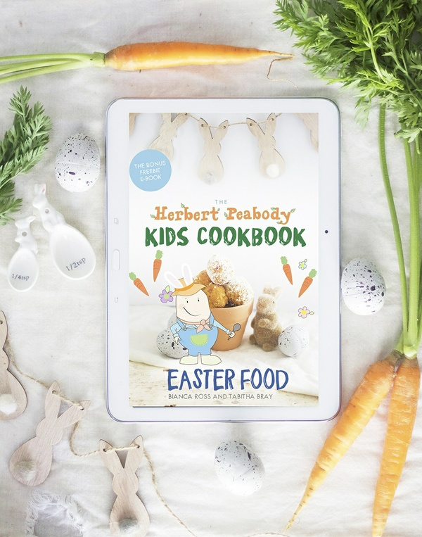 The Herbert Peabody Kids Cookbook Easter Food