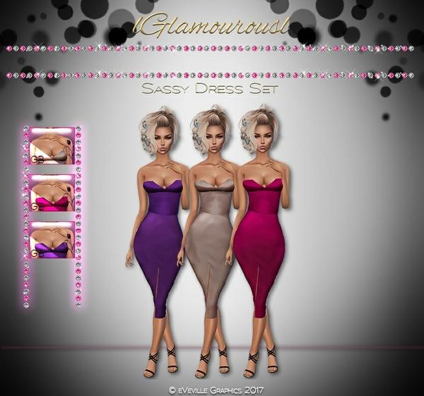 Sassy Dress Set ~CATALOG ONLY~