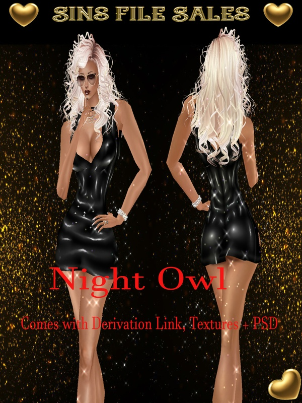 Night Owl Outfit + PSD