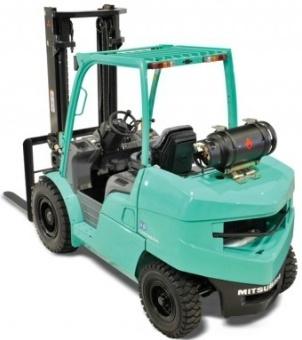 Mitsubishi Gasoline/LPG Forklift Truck FG40K, FG40KL, FG45K, FG50K Workshop Service Manual
