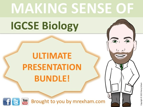 IGCSE Biology - The Ultimate Presentation Bundle