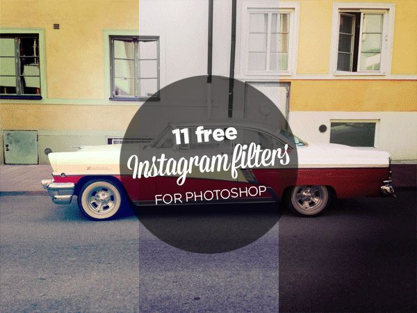 FREE INSTAGRAM FILTERS FOR PHOTOSHOP