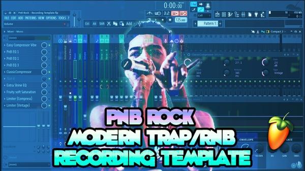 PnB Rock Modern Trap RnB Recording Template