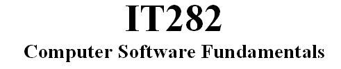 IT282 Week 8 Checkpoint - Identifying Threats to Network Security