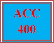 ACC 400 Week 2 Assignment from the Textbook